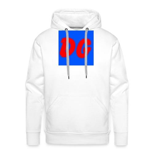 logo 2 - Mannen Premium hoodie