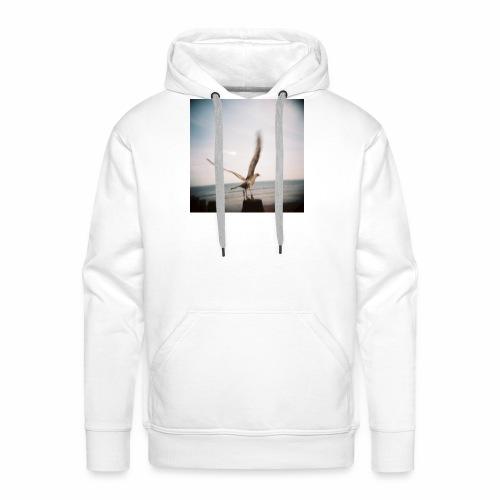 Original Artist design * Seagull - Men's Premium Hoodie