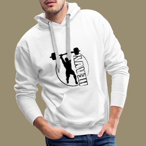 shirtsbydep heavy - Mannen Premium hoodie