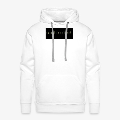 amgha_official_ - Männer Premium Hoodie