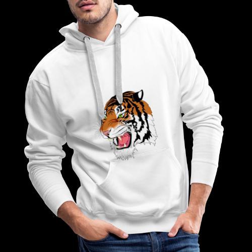 Sumatra Tiger - Männer Premium Hoodie