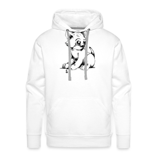 Chaton - Sweat-shirt à capuche Premium pour hommes