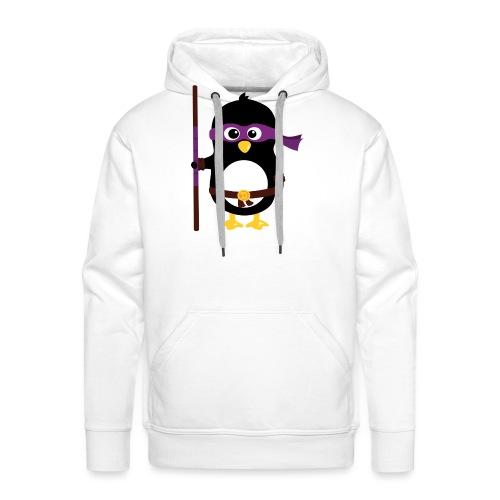 Pingouin ninja - Sweat-shirt à capuche Premium pour hommes