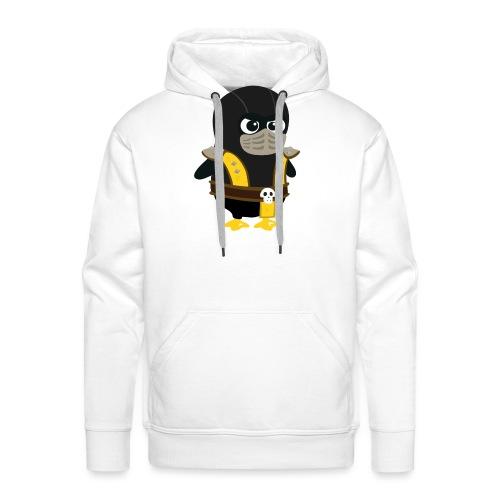 Pingouin Mortal Scorpion - Sweat-shirt à capuche Premium pour hommes