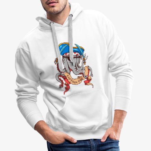 Hauptmann Octopus - Männer Premium Hoodie