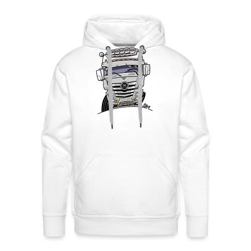 0807 M truck wit - Mannen Premium hoodie