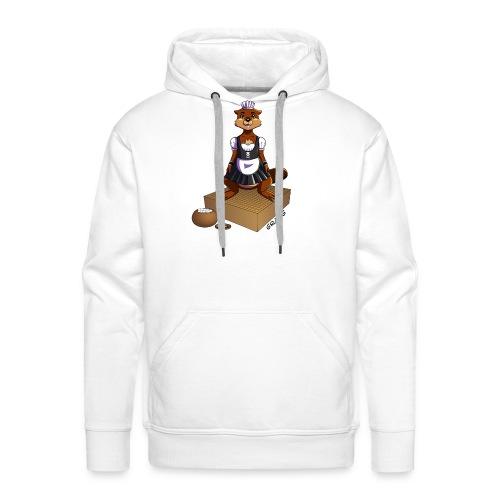 Pimp my Nuki - maid - Sweat-shirt à capuche Premium pour hommes
