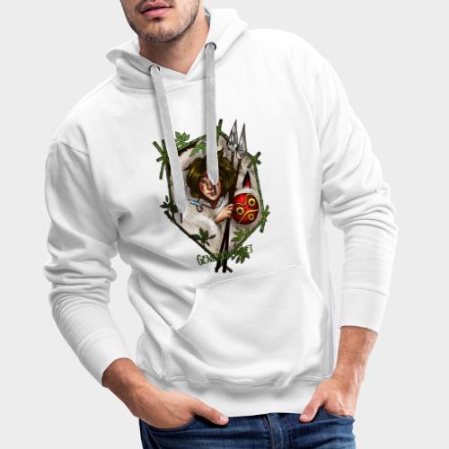 Geneworld - Mononoke - Sweat-shirt à capuche Premium pour hommes