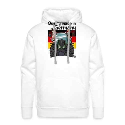 quality made in germany F - Mannen Premium hoodie