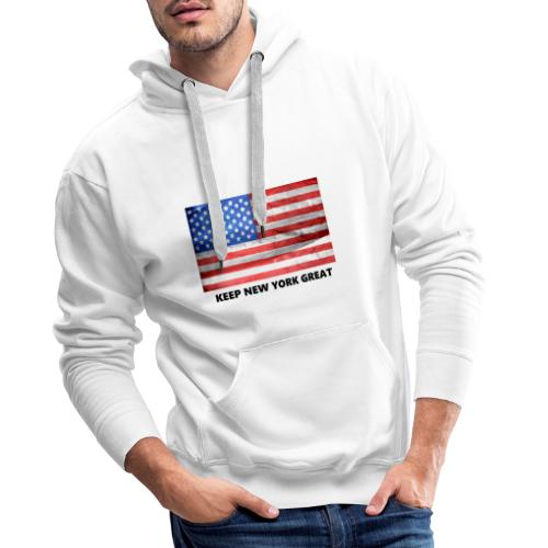 Keep New York Great - Männer Premium Hoodie