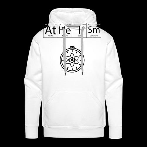 AtHeISm - Sweat-shirt à capuche Premium pour hommes