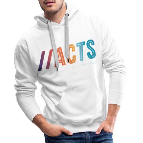 logo vêtement de Pictures by acts - Sweat-shirt à capuche Premium pour hommes