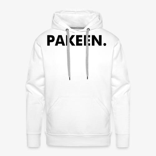 Pak Een Punt Horizontaal - Mannen Premium hoodie