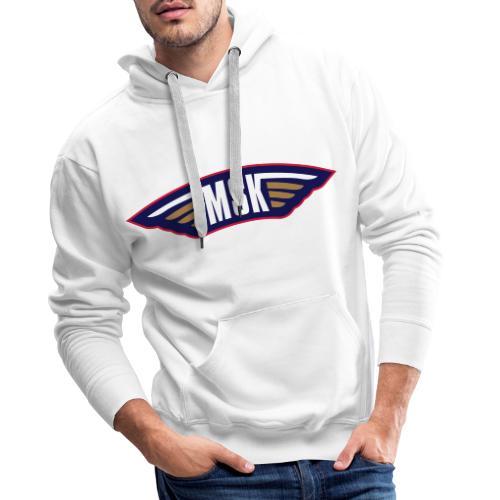 MSK - Herre Premium hættetrøje