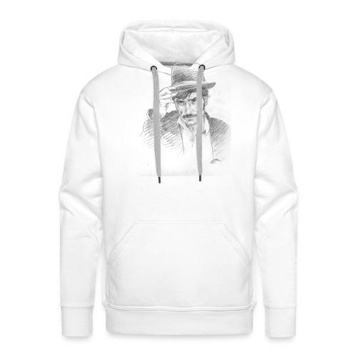 b129 - Sweat-shirt à capuche Premium pour hommes