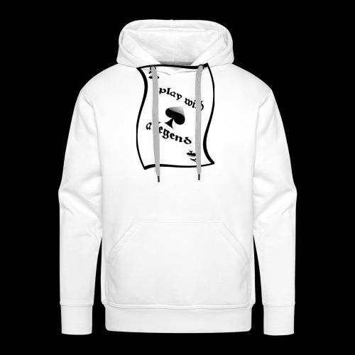 Legend ace of spade - Legend As de pique - Sweat-shirt à capuche Premium pour hommes