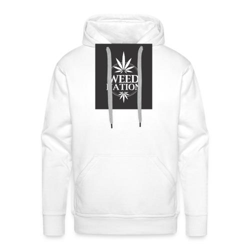 weed nation - Männer Premium Hoodie