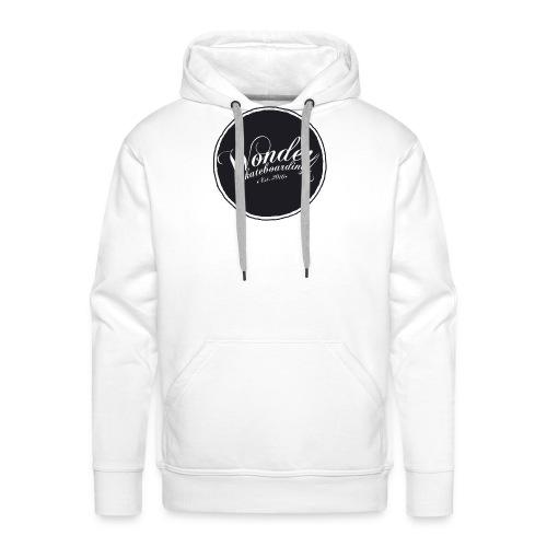 Wonder T-shirt - oldschool logo - Herre Premium hættetrøje