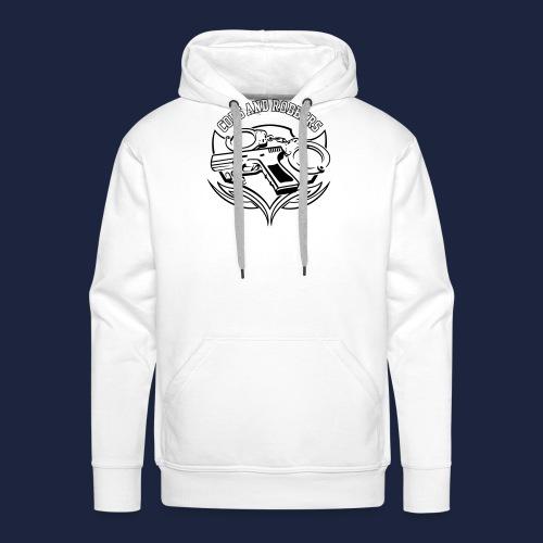 raglan CxR tee with large back logo - Men's Premium Hoodie