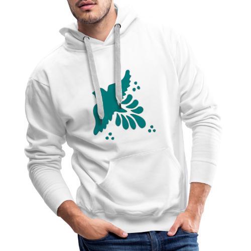Vogel Taube Freiheit Kunst - Männer Premium Hoodie