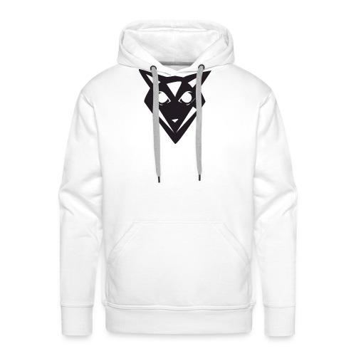 Wizarding Wolf Logo - Without Text - Männer Premium Hoodie