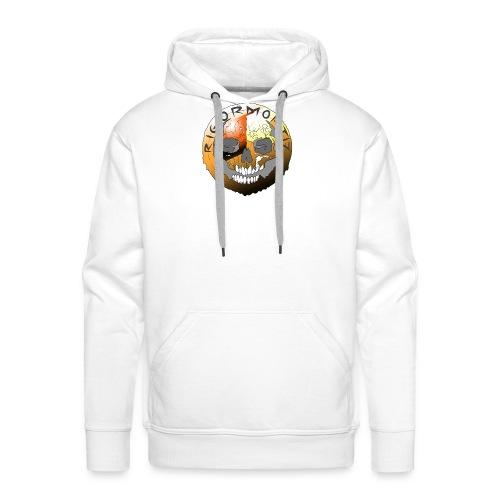 Rigormortiz Metallic Orange Design - Men's Premium Hoodie
