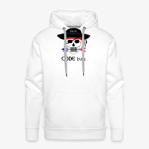 Code Bar couleur - Sweat-shirt à capuche Premium pour hommes
