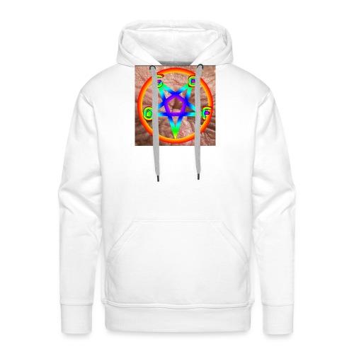 OSEF LOGO jpg - Sweat-shirt à capuche Premium pour hommes