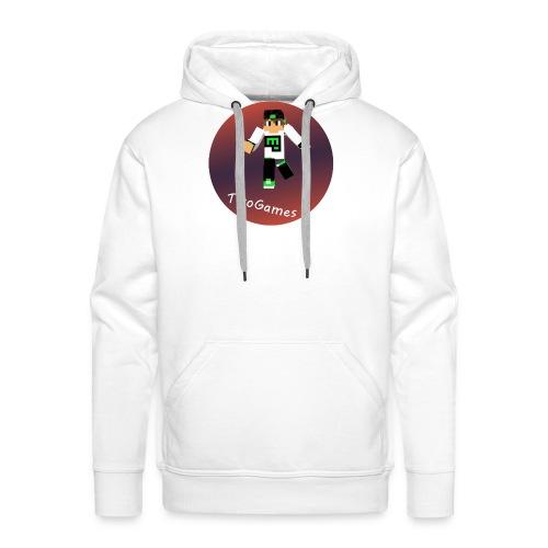 Hoodie met TwoGames logo - Mannen Premium hoodie