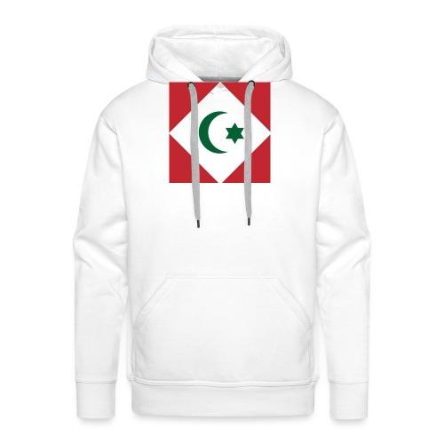 berber vlag - Mannen Premium hoodie