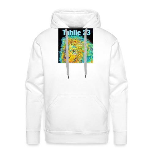Tahlie 23 lion logo - Men's Premium Hoodie