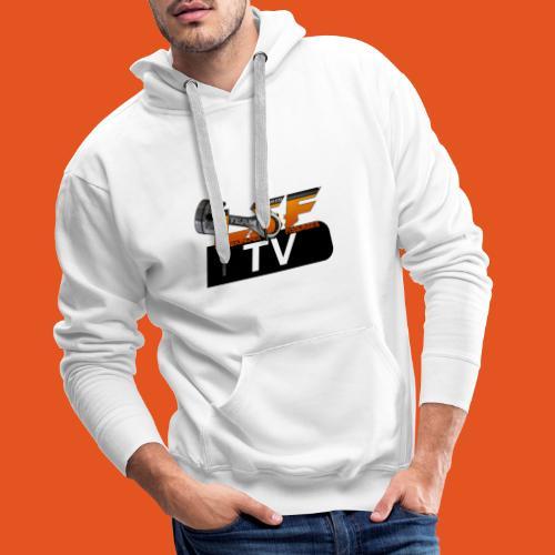 LSF TV - Sweat-shirt à capuche Premium pour hommes