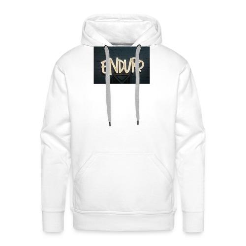 Koszulka z logiem Enduro. - Bluza męska Premium z kapturem