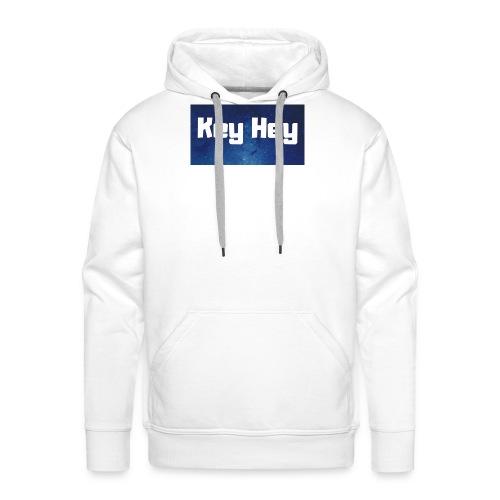 Key Hey Logo - Männer Premium Hoodie