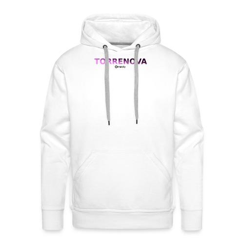 Torrenova - Felpa con cappuccio premium da uomo