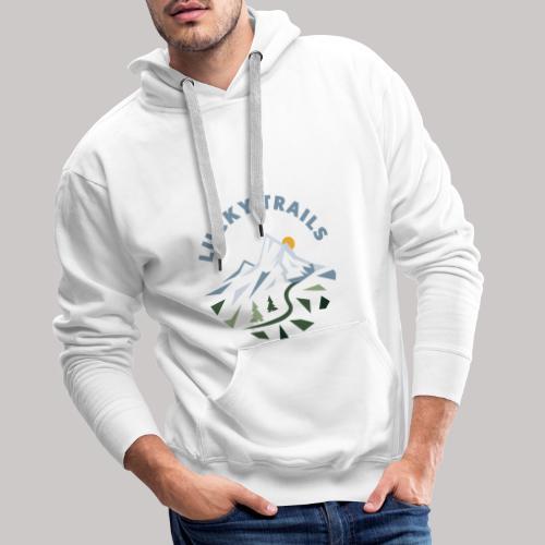 Lucky Trails, URL - Männer Premium Hoodie