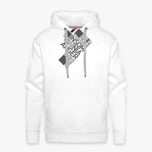 PTSD999 Wordle 5 - Men's Premium Hoodie