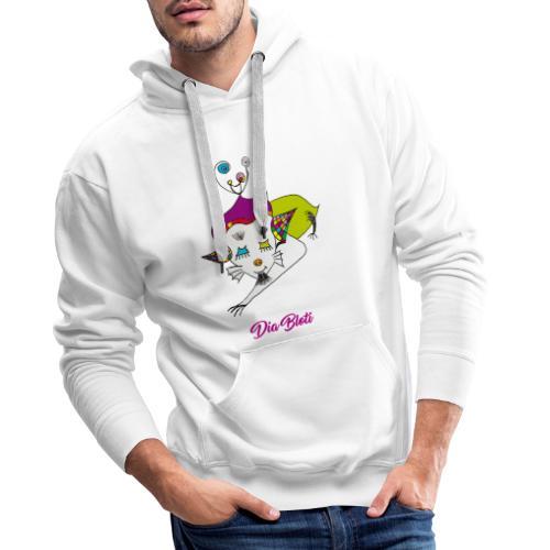 Dia Bloti - Sweat-shirt à capuche Premium pour hommes