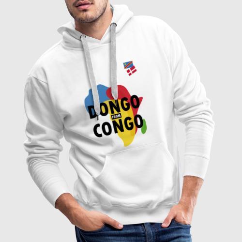 dongo from congo - Herre Premium hættetrøje