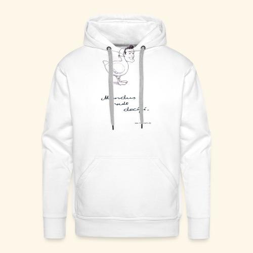 Mundus vult decipi (Ente) - Männer Premium Hoodie