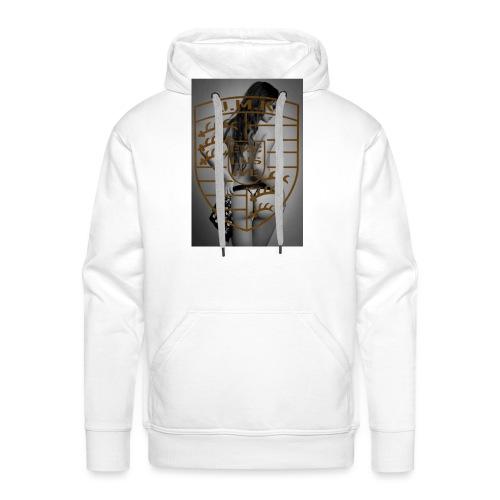 JMK Girl Grey - Männer Premium Hoodie