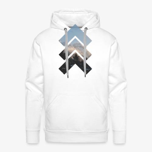 Mountain up - Männer Premium Hoodie