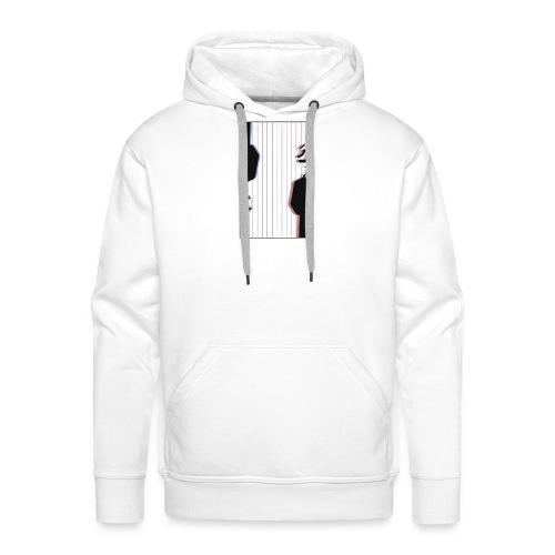 BACK - Sweat-shirt à capuche Premium pour hommes