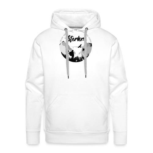 STERKR - Fjordview - Mannen Premium hoodie