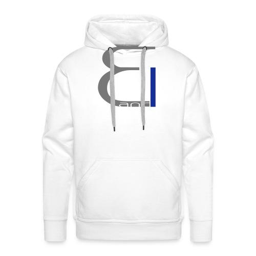 single logo - Männer Premium Hoodie