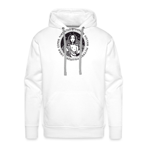 Woman Warrior - Men's Premium Hoodie