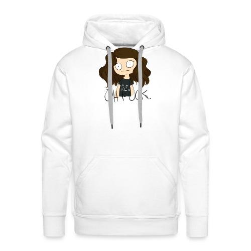 Oh fuck. - Sweat-shirt à capuche Premium pour hommes