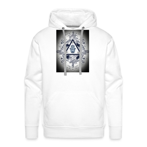 Artsy design with spiritual/meaningful add ons. - Men's Premium Hoodie