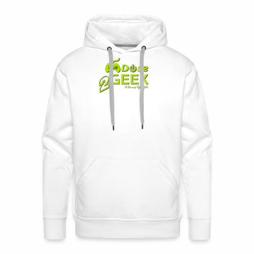 1dose2geek TR - Sweat-shirt à capuche Premium pour hommes