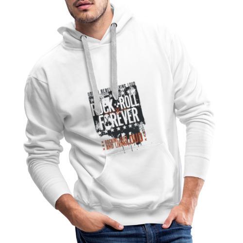 Rock forever - Men's Premium Hoodie